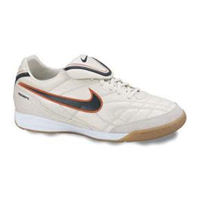 Nike Tiempo Mystic III IC Indoor Soccer Shoes (Soft Pearl)