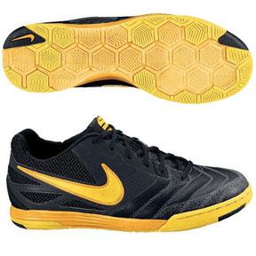 pretty nice 238bb ee0bb ... Nike NIKE5 Lunar Gato Indoor Soccer Shoes (Black) Nike5 Gato Indoor  Soccer Shoes (BlackBlackNeo LimeTr Yellow) The Defenders Choice ...