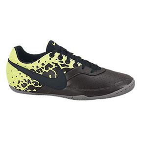 Nike NIKE5 Elastico II Indoor Soccer Shoes (Charcoal/Volt)