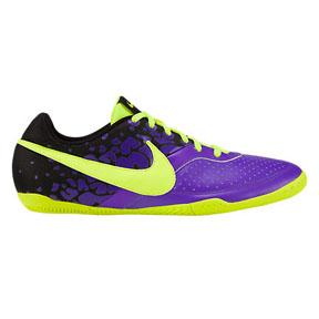 Nike NIKE5 Elastico II Indoor Soccer Shoes (Purple/Yellow)