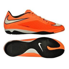 Nike  HyperVenom Phelon Indoor Soccer Shoes (Orange)