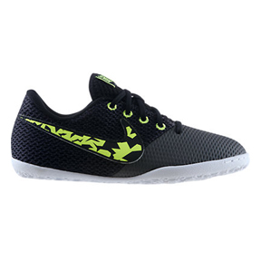 Nike Youth Elastico Pro III Indoor Soccer Shoes (Black/Fog)