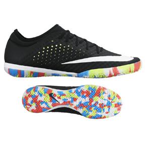 Nike  MercurialX Finale Street Indoor Soccer Shoes (Black/Multi)