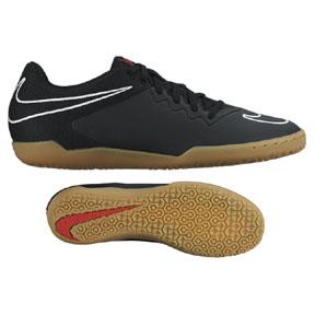 Nike HyperVenomX Pro Indoor Soccer Shoes (Black/White)