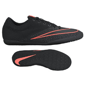Nike MercurialX Pro Indoor Soccer Shoes (Black/Crimson)