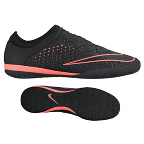 Nike  MercurialX Finale Indoor Soccer Shoes (Black/Crimson)