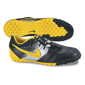 Nike NIKE5 Bomba Turf Soccer Shoes (Black/Maize)