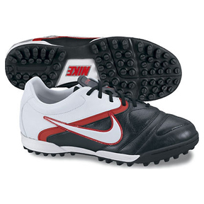 Nike Youth CTR360 Libretto II Turf Soccer Shoes (Black/Red/White)