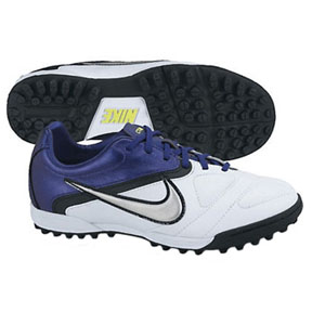 Nike Youth CTR360 Libretto II Turf Soccer Shoes (White)