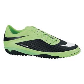 Nike HyperVenom Phelon Turf Soccer Shoes (Lime/Black)