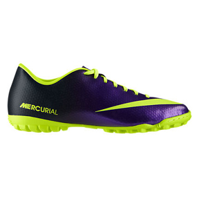 Nike Mercurial Victory IV Turf Soccer Shoes (Electro Purple)