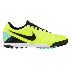 Nike CTR360 Libretto III Turf Soccer Shoes (Volt/Black)