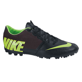Nike FC247 Bomba Pro II Turf Soccer Shoes (Black/Electric Green)