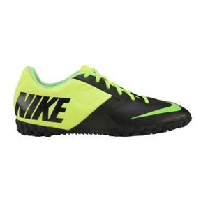 Nike FC247 Bomba II Turf Soccer Shoes (Black/Volt)