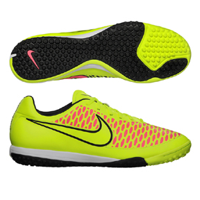 Nike Magista Onda Turf Soccer Shoes (Volt/Black/Punch)