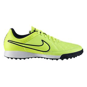 Nike Tiempo Genio Turf Soccer Shoes (Volt/Black/Volt)