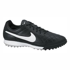 Nike Tiempo Legacy Turf  Soccer Shoes (Black/White)