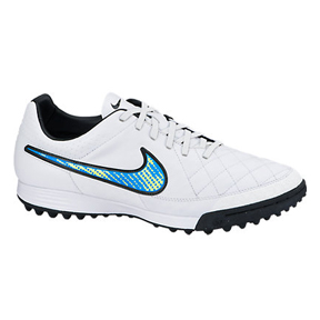 Nike Tiempo Legacy Turf  Soccer Shoes (White Pack)