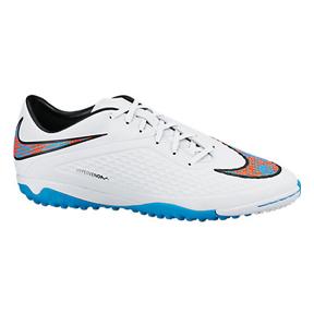 Nike HyperVenom Phelon Turf Soccer Shoes (White Pack)