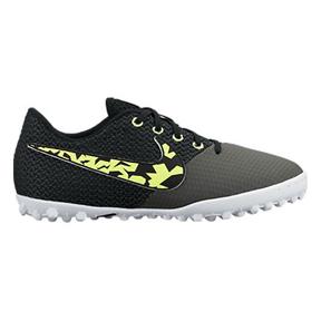 Nike Youth Elastico Pro III Turf Soccer Shoes (Midnight Fog)