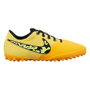 Nike Youth Elastico Pro III Turf Soccer Shoes (Total Orange)