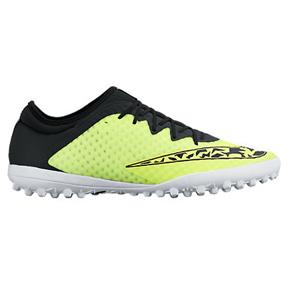 Nike Elastico Finale III Turf Soccer Shoes (Volt/Black)