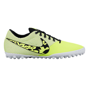 Nike FC247 Elastico Pro III Turf Soccer Shoes (Volt/Black)