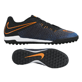 Nike  HyperVenomX Finale II Street Turf Soccer Shoes (Racer Blue)