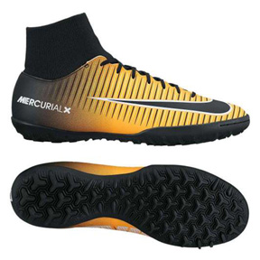 Nike  MercurialX Victory VI DF Turf Soccer Shoes (Laser Orange)