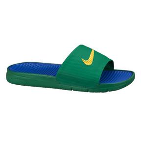 Nike Benassi SolarSoft Soccer Sandal / Slide (Pine Green)