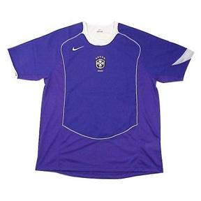 Nike Brasil / Brazil Soccer Jersey (Away 2004/05)