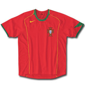 Nike Portugal Soccer Jersey (Home 04/05)