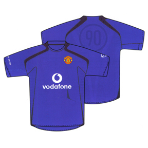 Nike Manchester United Soccer Training Jersey (Royal)