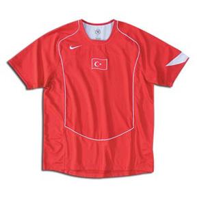 Nike Turkey Soccer Jersey (Home 2004/05)