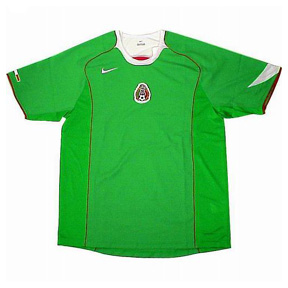 Nike Mexico Soccer Jersey (Home 2005)