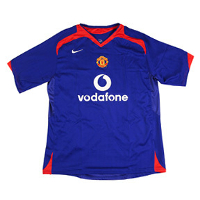 Nike Manchester United Soccer Jersey (Away 06/07)