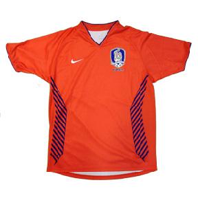 Nike Korea Soccer Jersey (Home 2006)