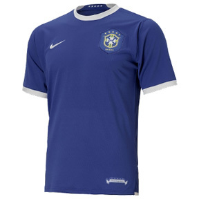 Nike Brasil / Brazil Soccer Jersey (Away 2006/07)
