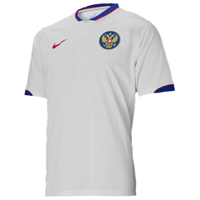 Nike Russia Soccer Jersey (Home 06/07)