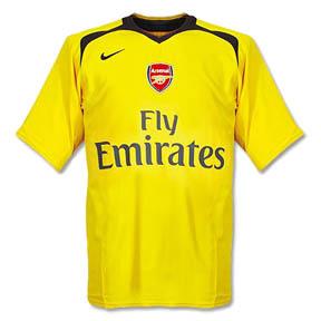 Nike Arsenal Soccer Jersey (Away 2006/07)