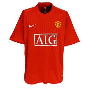 Nike Manchester United Soccer Jersey (Home 2008/09)