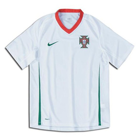 Nike Youth Portugal Soccer Jersey (Away 2008/09)