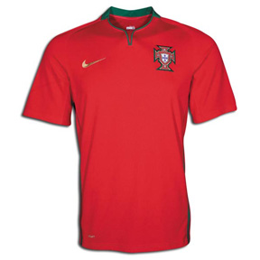 Nike Portugal Soccer Jersey (Home 2008/09)