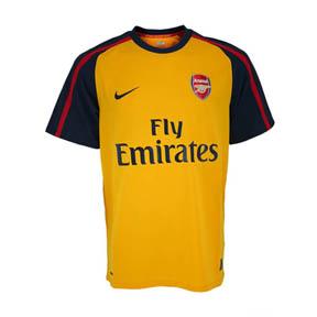 Nike Arsenal Soccer Jersey (Away 2008/09)