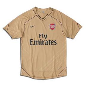Nike Arsenal Pre-Match Soccer Training Jersey (2007/08)