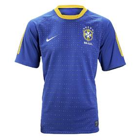Nike Brasil / Brazil Soccer Jersey (Away 2010/11)