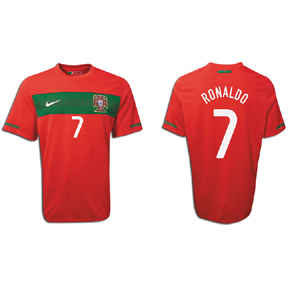 Nike Portugal Cristiano Ronaldo #7 Soccer Jersey (Home 10/11)