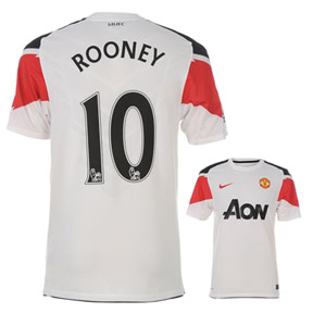Nike Manchester United Rooney #10 Soccer Jersey (Away 2010/11)