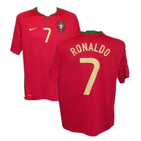 Nike Portugal Cristiano Ronaldo #7 Soccer Jersey (Home 08/09)