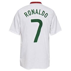 Nike Portugal Cristiano Ronaldo #7 Soccer Jersey (Away 08/09)